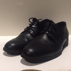KENNETH COLE Dress Shoes-Black-Youth-Size 4.5